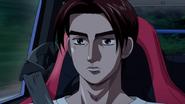 S5E01 Takumi driving the Impreza