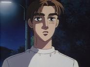 S1E26 Takumi watches Ryosuke leave