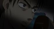 S4E02 Takumi watches Toru's car flip