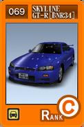 SS069 Skyline GT-R BNR34