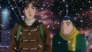 Third Stage Takumi walks home with Itsuki 2