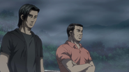 S5E08 Kubo and Go watch the race 1