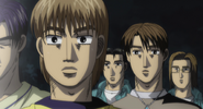 S4E17 Project D are surprised by Keisuke and Amada