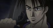 S4E24 Takumi battles with Joshima 1