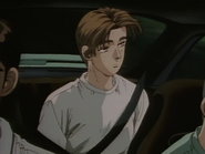 S1E01 Takumi in the back of Iketani's S13
