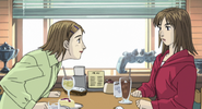 S4E08 Kyoko and her friend at a cafe
