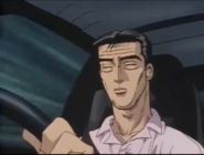 Bunta driving the AE86 First Stage
