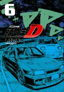 Initial D New Edition Volume 6 Cover