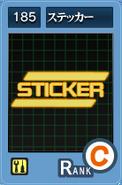 SS185 Sticker