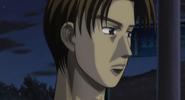 S4E20 Takumi watches Keisuke's race