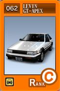 SS062 Levin GT-APEX AE86