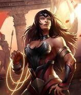 Warrior Queen Wonder Woman