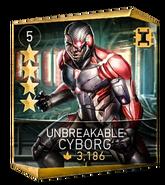 Unbreakable cyborg