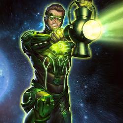 Emerald Green Lantern