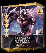 Predator batman