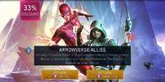 Arrowverse Allies Chest