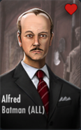Alfred Support Card