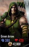 IOS Green Arrow Card