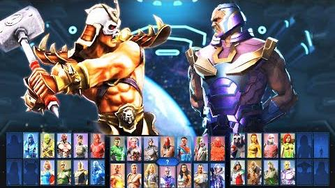 INJUSTICE 2 - ALL Mortal Kombat Characters REFERENCE!!! Shinnok quan chi NEW dialogues sub-zero
