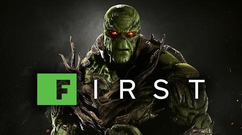 Injustice 2 Swamp Thing Gameplay Reveal Trailer (1080 60fps) – IGN First