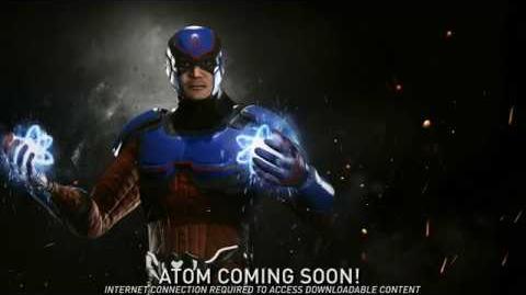 Injustice 2 - Introducing Atom!