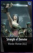 Strength of Demeter iOS
