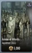 Armies of Atlantis Support Card