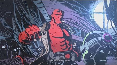 Injustice 2- Hellboy's Ending