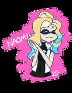 Naomi Fan Art 1