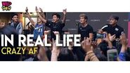 """In Real Life Performs """"Crazy AF"""" LIVE at Serramonte Center"""