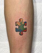 Michael Conor - Puzzle Piece Tattoo