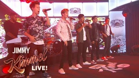 In Real Life - Tattoo (How 'Bout You) - Jimmy Kimmel Live!