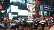 In Real Life - Times Square - B roll footage (HD)