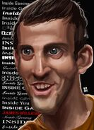 James willams caricature inside gaming by esfancycholo-d84wgsj
