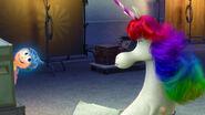 Alegría se despide de Unicornio Arcoíris