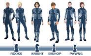Uniforms of the Consortium