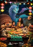 Disney's Raya and the Last Dragon European Spanish Poster 3