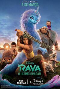 Disney's Raya and the Last Dragon Brazilian Portuguese Poster 2.jpg