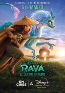 Disney's Raya and the Last Dragon Latin American Spanish Poster