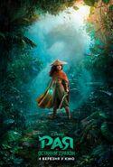Disney's Raya and the Last Dragon Ukrainian Poster
