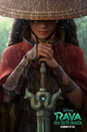 Disney's Raya and the Last Dragon Swedish Teaser Poster