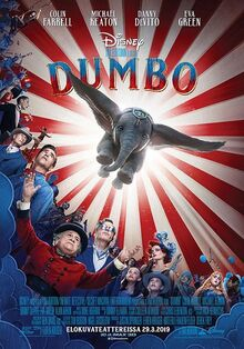 Disney's Dumbo 2019 Finnish Poster.jpeg