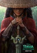 Disney's Raya and the Last Dragon Norwegian Teaser Poster