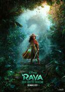 Disney's Raya and the Last Dragon German Poster