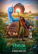 Disney's Raya and the Last Dragon Indonesian Poster 2