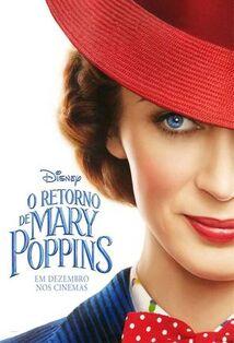 Disney's Mary Poppins Returns Brazilian Portuguese Teaser Poster.jpeg