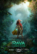 Disney's Raya and the Last Dragon Canadian French Poster