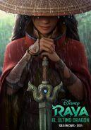 Disney's Raya and the Last Dragon Latin American Spanish Teaser Poster