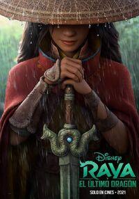 Disney's Raya and the Last Dragon Latin American Spanish Teaser Poster.jpg