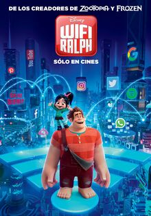 Disney's Ralph Breaks the Internet Latin American Spanish Poster 2.jpeg